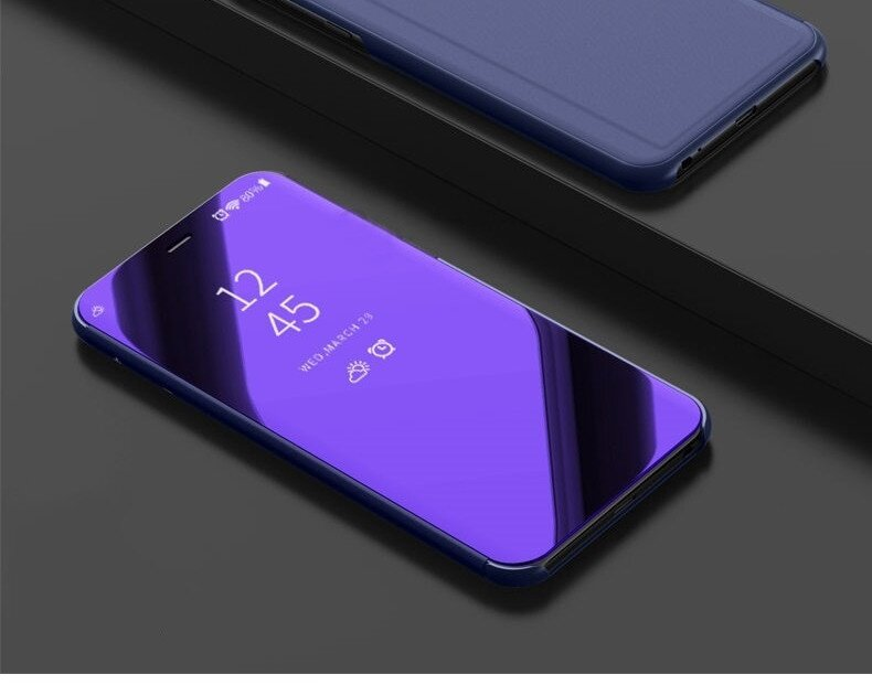 Чехол Mirror для Samsung Galaxy Grand Prime G530 G531 книжка Purple
